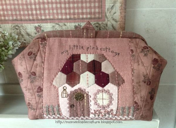 Momentos de Costura: My little pink cottage