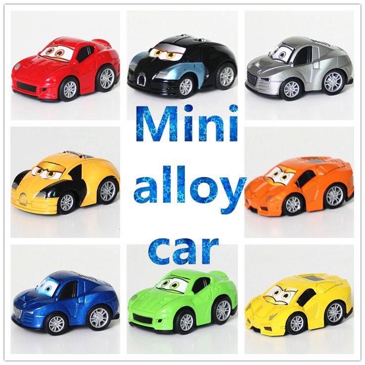 小売8色4スタイル金属合金は有名な車のクラシックおもちゃプルバック車ダイキャストおもちゃ車おもちゃ
