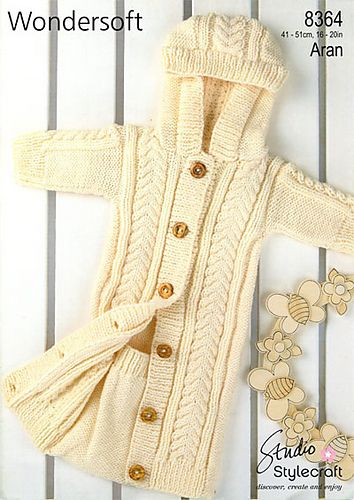 Ravelry: Stylecraft 8364 pattern by Audrey Wilson