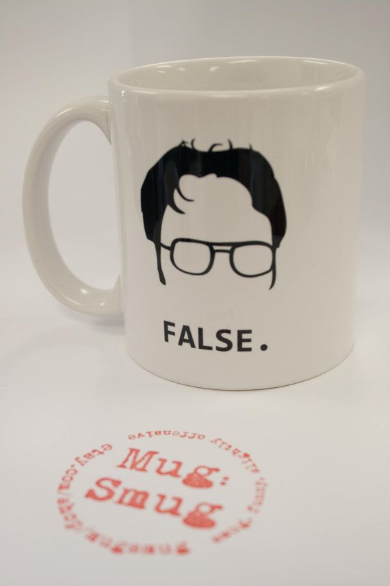 Hey, I found this really awesome Etsy listing at https://www.etsy.com/listing/188313494/dwight-schrute-false-coffee-mug