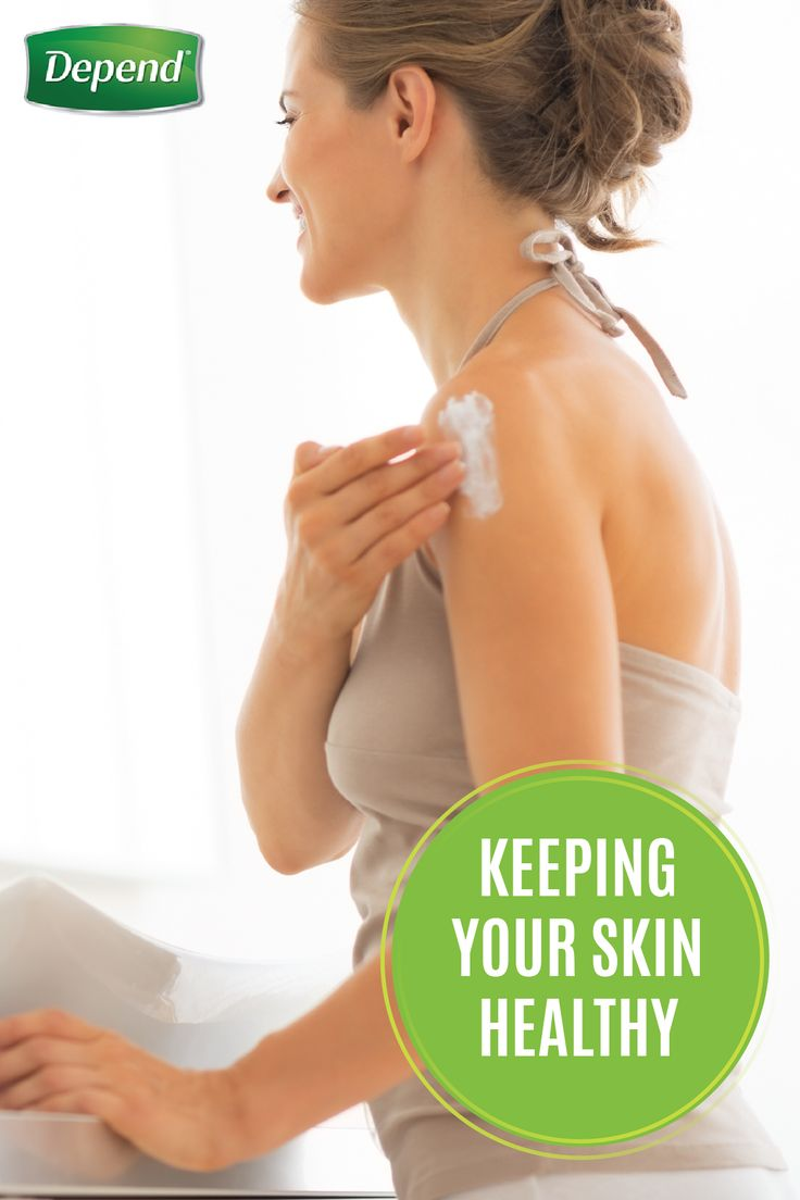 One of the challenges of incontinence is keeping your skin dry and protected, so that you don't get rashes or chafing. Fortunately, there are several ways you can minimize these skin care concerns. Here are a few tips from Depend® that you can incorporate into your healthy living New Year's resolutions.