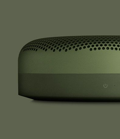 Beoplay A1 is a dust and splash resistant, ultra-portable, Bluetooth speaker with a built in microphone.