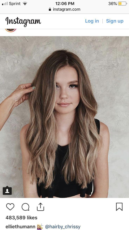 Notitle Har Och Skonhet Haare Balayage Haar Styling Haarschnitt Lange Haare