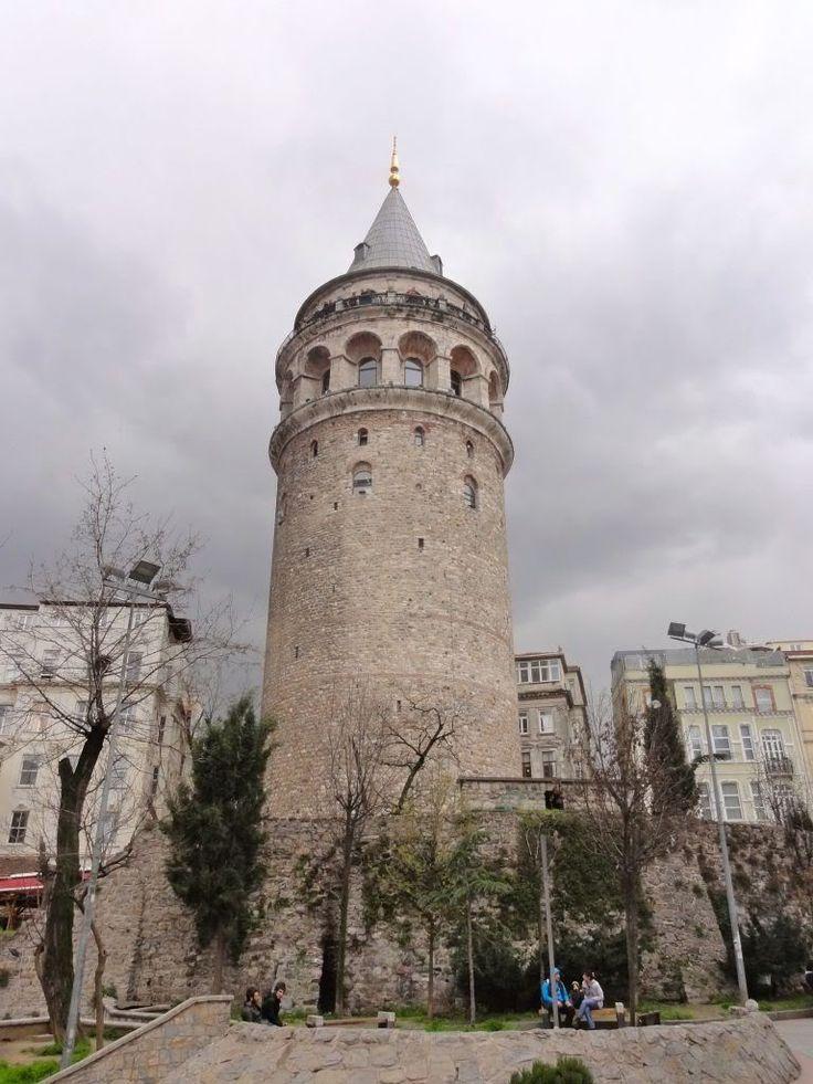 La torre di Galata, costruita dai Genovesi