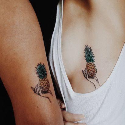 12 Cute and minimalistic couple tattoos - Be Asia: fashion, beauty, lifestyle & celebrity news