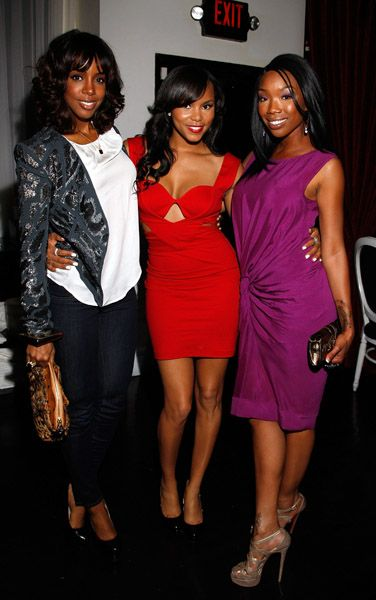 Singer Beauties Kelly Rowland, LeToya Luckette, & Brandy Norwood