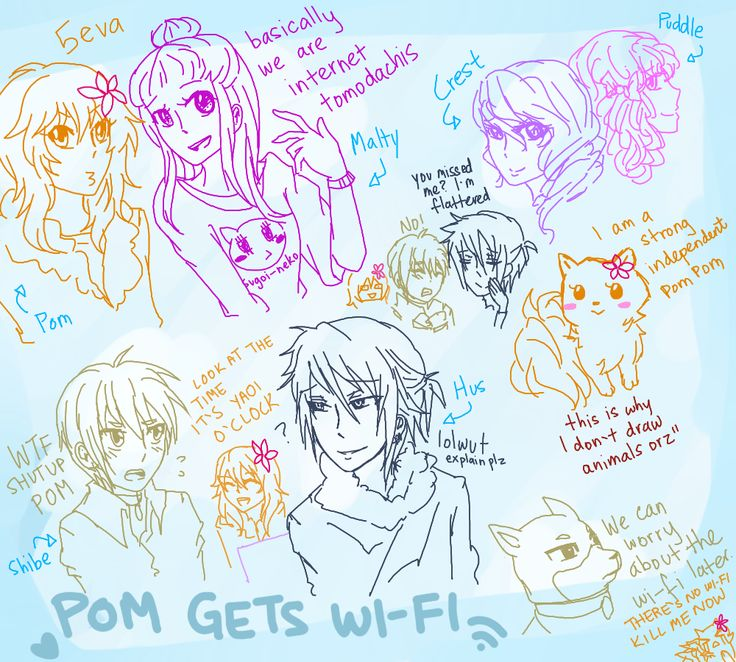 pom gets wifi anime - Google Search