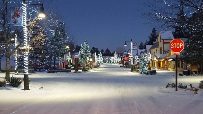 Big Bear Lake Christmas.Although Big Bear Lake Village Is A Great Spot To Visit All