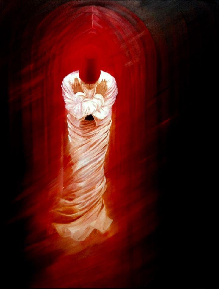 Salutation & oil on canvas ( Gülcan Karadağ )