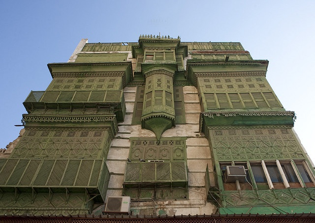 Jeddah old ottoman architecture - Saudi Arabia