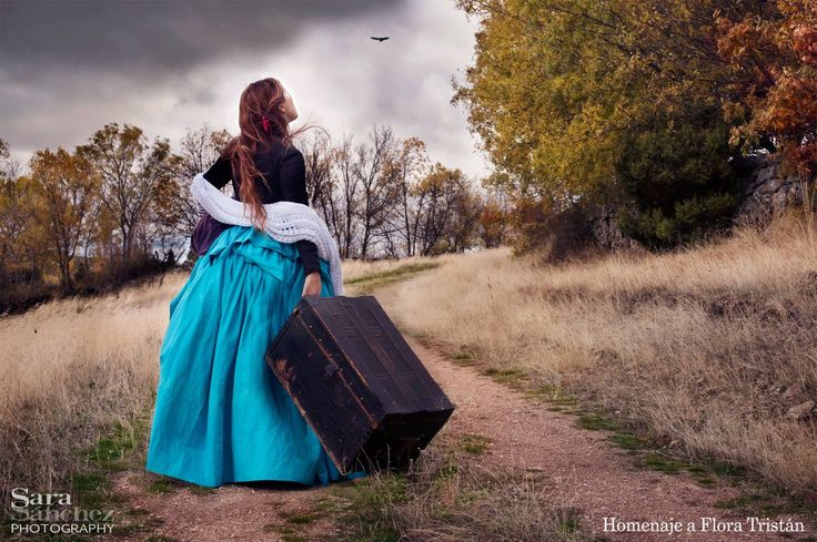 Flora Tristan  My hommage photographique to her. #HerStory #Women #MujeresEnLaHistoria #FloraTristan