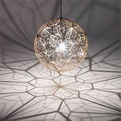 *RUGENIUSTom Dixon launches the new Etch Web pendant lamp.