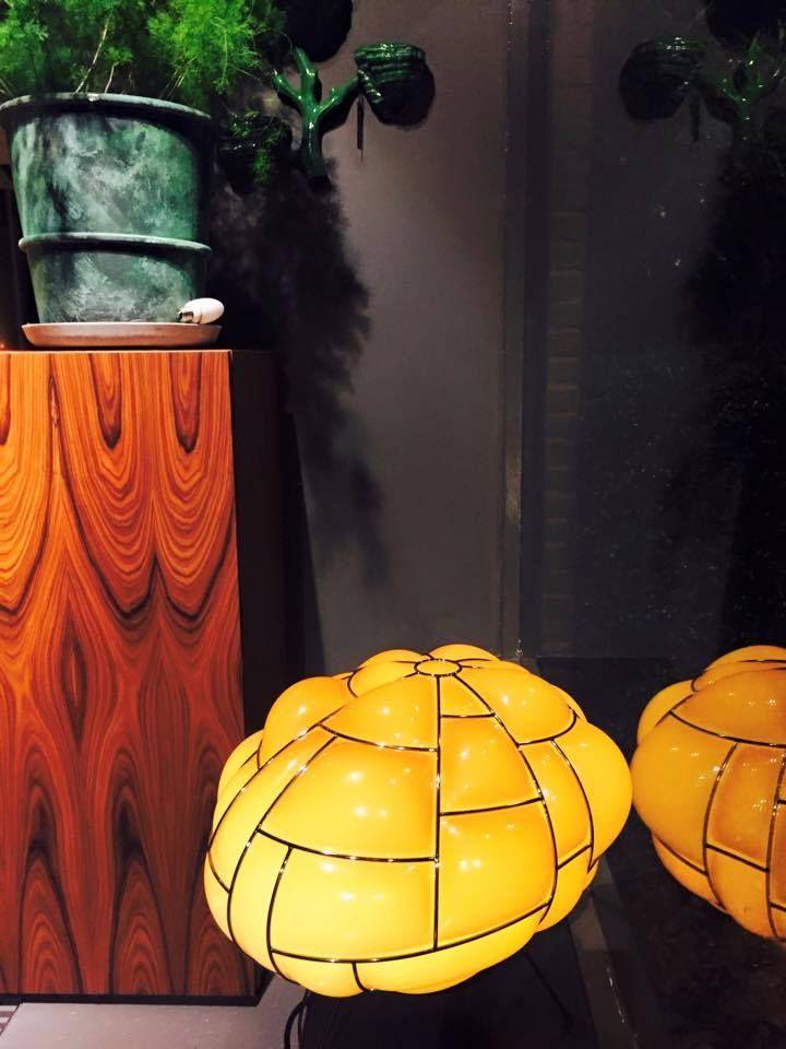 #egg lamp at Studio Erik Gutter