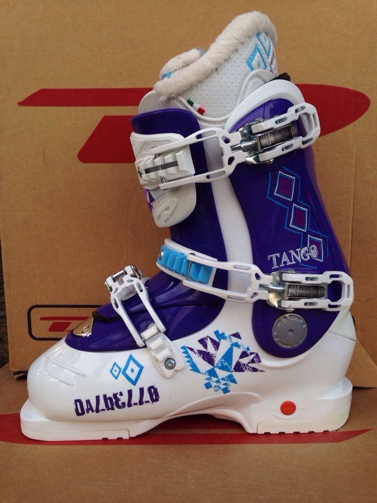 Dalbello Tango Ls White Purple Plastic Ski Boots - Scarponi Da Sci  Published via Nembol app