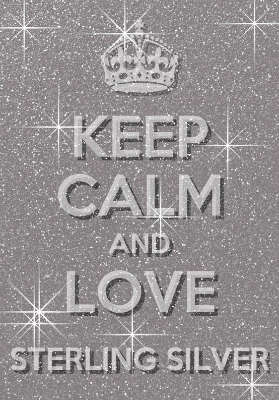 Love silver!