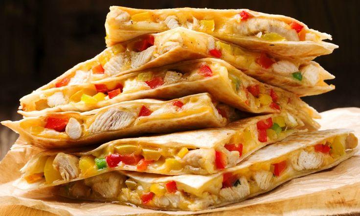 Quesadilla cu pui | Retete culinare - Romanesti si din Bucataria internationala