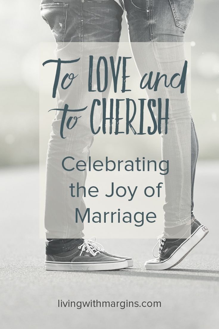 I love being married, and wanted to honour my husband for all that he has done to make our marriage thrive.
