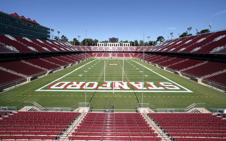 Stanford University Football Stadium. Catch a game during ...