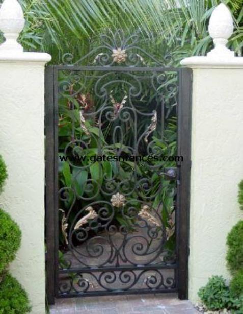 tropical escape ornamental garden gate garden fence gates or ornamental gates for garden