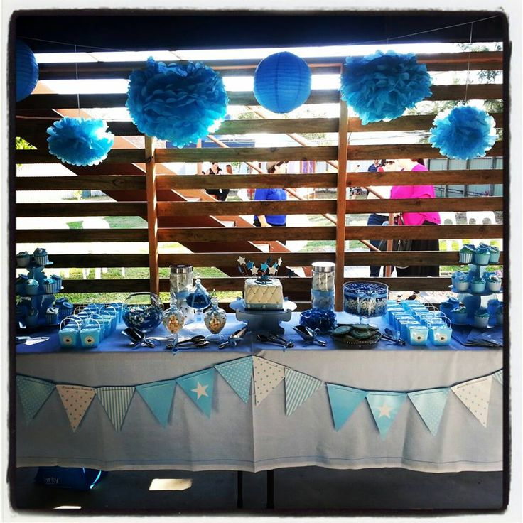 Blue Lolly Buffet - Liam's Naming Day