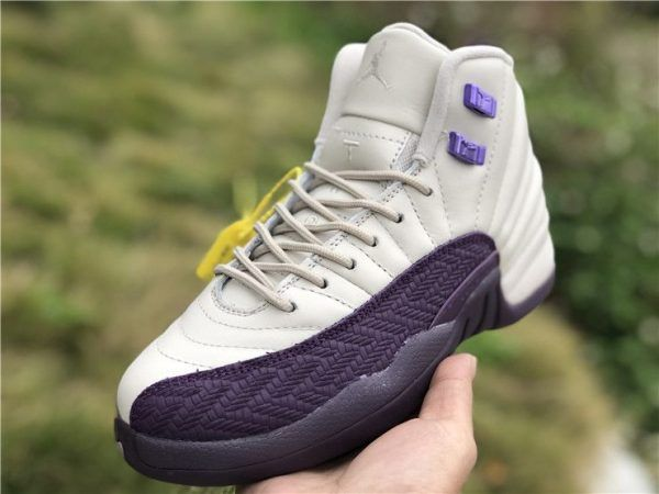 Women S Air Jordan 12 Desert Sand Pro Purple Air Jordans Jordans New Jordans 12