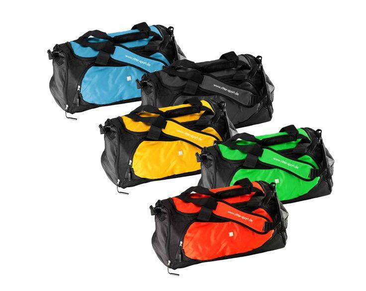Mit unserer RITTER SPORT Sporttasche macht sogar der Weg ins Training Spaß.