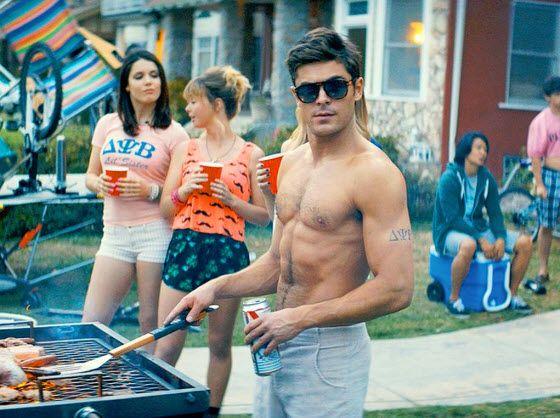 Zac Efron plays frat guy in Neighbors movie