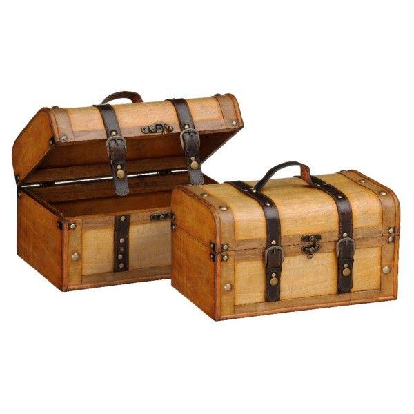 Zestaw 2 kuferków Storage | Bonami