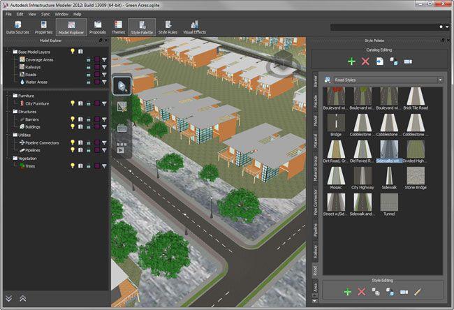Autodesk Infrastructure Modeler 2012