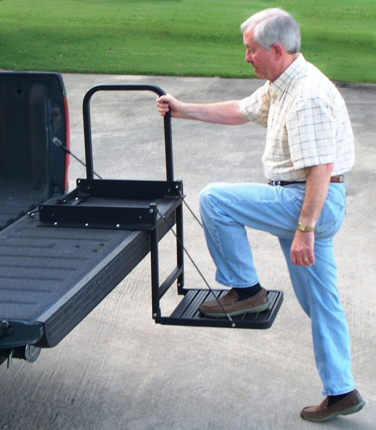 Steps For Excavators : Truck n buddy pickup tailgate step  do you have a