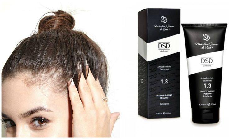 Hodebunns problemer  Flass og eksem i hodebunnen kan ofte komme av kronisk utmattelse eller at man har en stresset hverdag, eller at man ikke har et bra nok kosthold. Hvis kroppen mangler vitaminer og næringssalter, kan dette resultere i flass og eksem i hodebunnen.  For å behandle dette, anbefaler vi å bruke DSD De Luxe 1.3 Peeling 2 til 3 ganger pr uke. Dette produktet inneholder naturlige fruktsyrer og bidrar til å eksfoliere kreatin lagene.  #hodebunnsproblemer #flass #eksem #kløe…