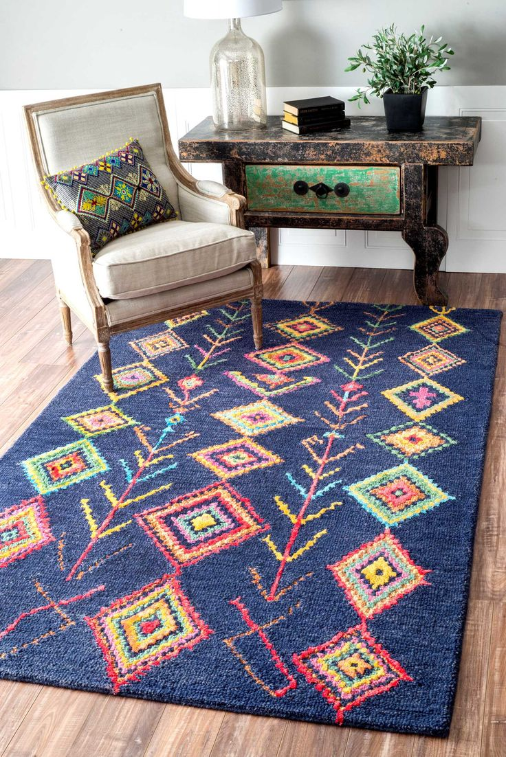 best  colorful rugs ideas on pinterest  bohemian rug rugs and  - hand tufted belini area rug
