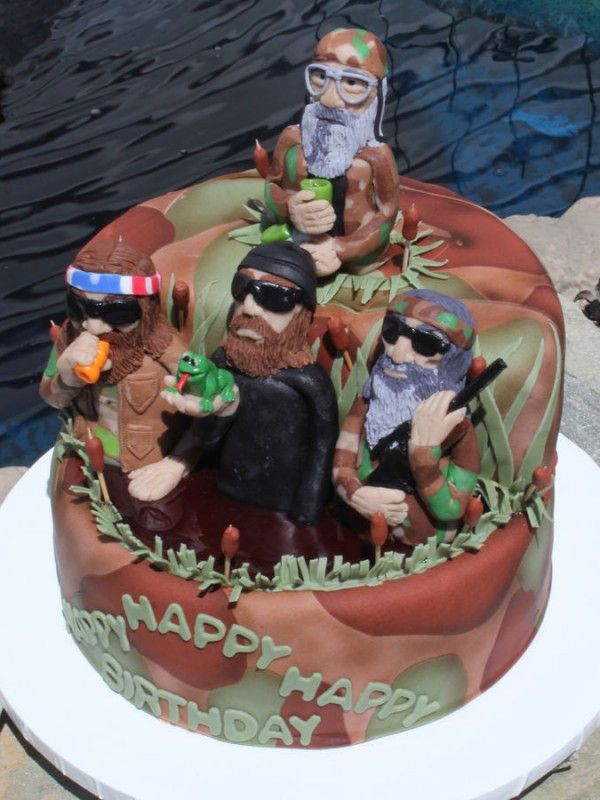Top Duck Dynasty Cakes