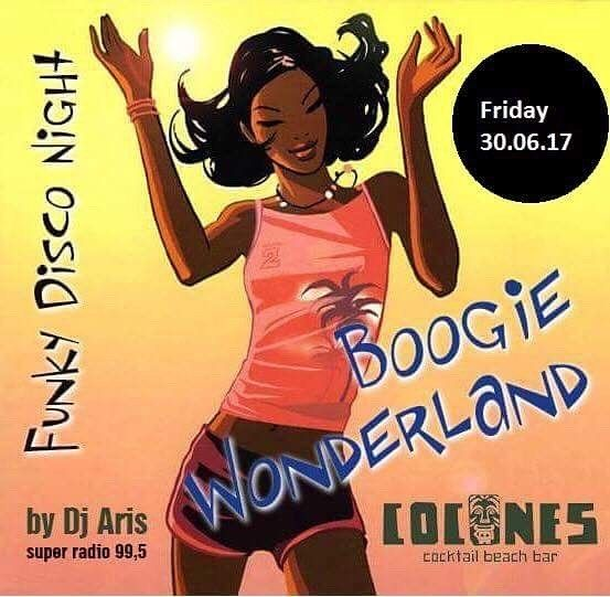 Cocones Beach Bar — Cocones Beach Bar presents BOOGIE WONDERLAND! A...