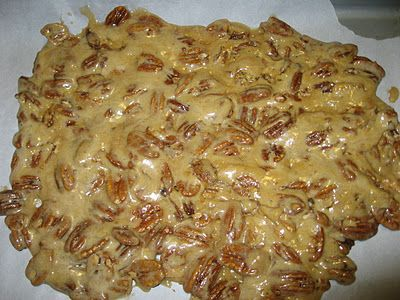 The Virtuous Wife: Microwave Pecan Brittle Tutorial