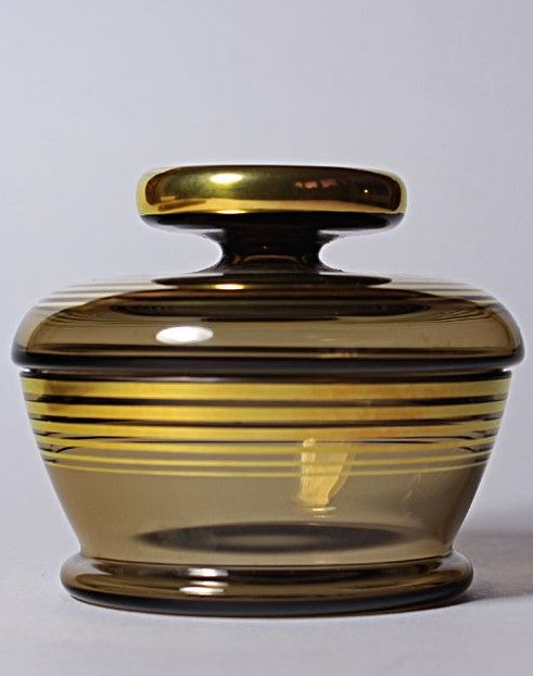 Fantastic Art Deco Machine Age Vanity Set Perfume Flacon…