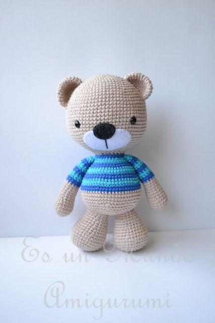 Amigurumi Teddy Bear - FREE Crochet Pattern / Tutorial