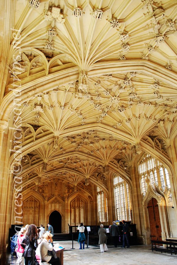Oxford - Christ Church College - Old Library