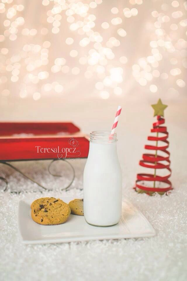 Beautiful Christmas Session   indoor cookies and jammie holiday session by Teresa Lopez Photography.
