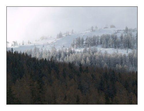 ...partis il y a déjà quelques jours, (alors qu'il neigeait partout en France ), respirer le bon air des montagnes... Profiter de ces moments à quatre, ramener un