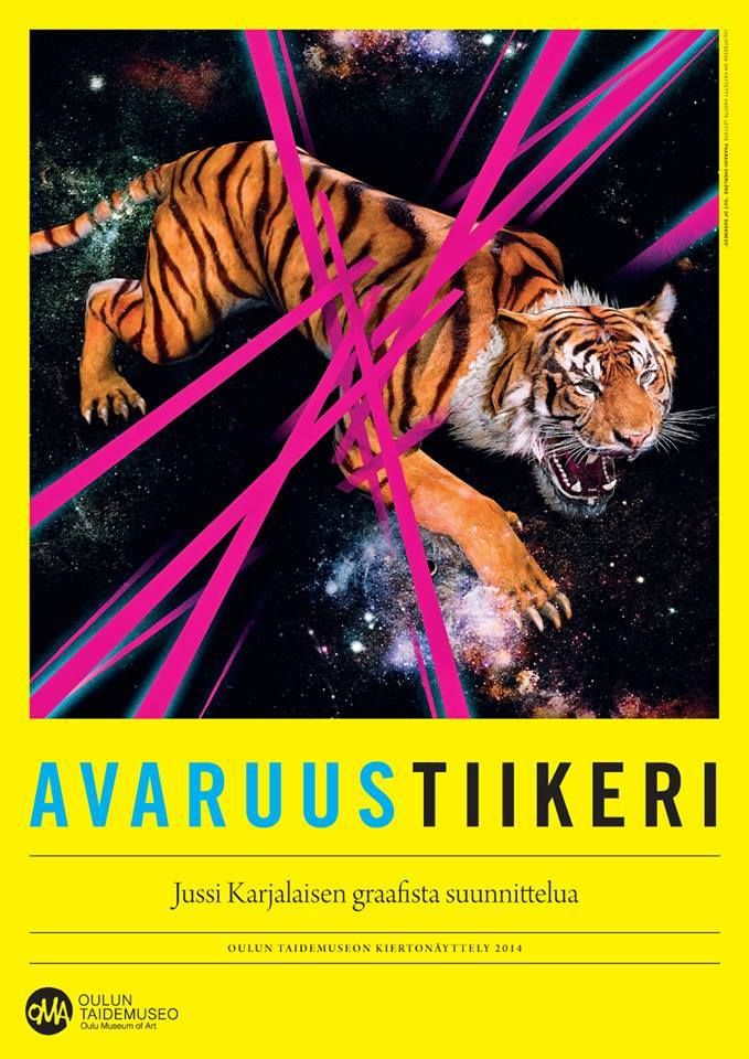 Space Tiger – a traveling exhibition by Jussi Karjalainen starts in February 2014 at the Talvikoski Library! http://napaillustrations.tumblr.com/post/74827785208/space-tiger-a-traveling-exhibition-by-jussi