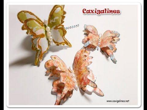 Mariposas Decoradas