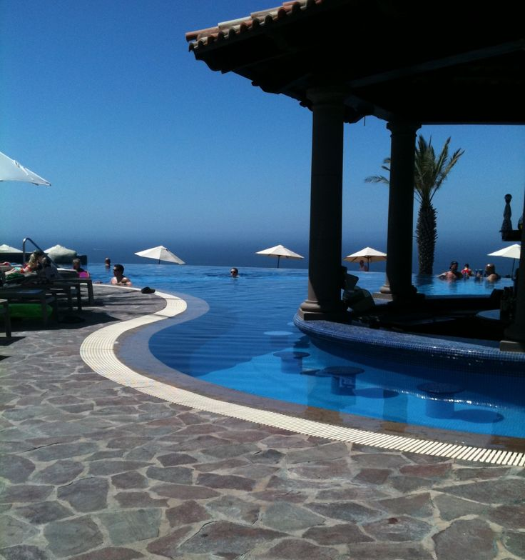 Cabo!   View from Pueblo Bonito Sunset Beach Hotel.