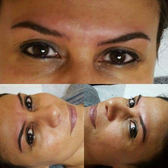 Microblading y shading brows en una sola sesion