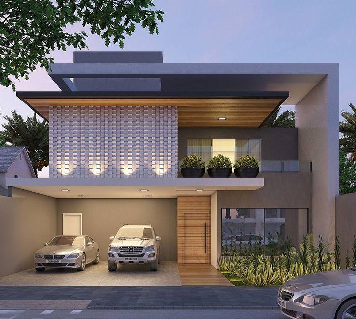 Best 25 house elevation ideas on pinterest villa design - Abitazioni moderne ...