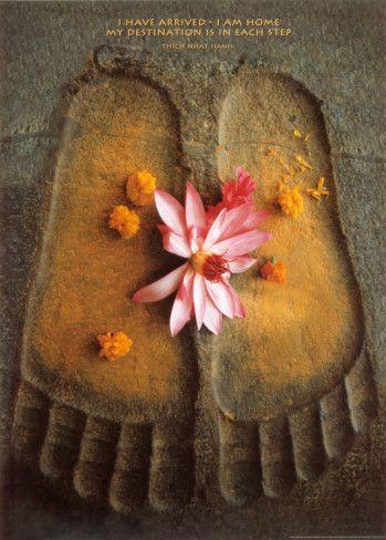 .....Buddha feet