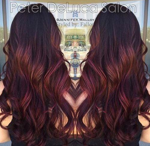 Best 25 burgundy hair highlights ideas on pinterest hair color 40 hair color ideas that are perfectly on point burgundy hair with highlightsombre pmusecretfo Choice Image