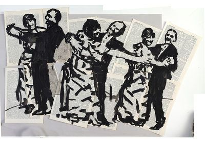 William Kentridge Amy Snyder amysnyder.nyc #collectart #livingwithart