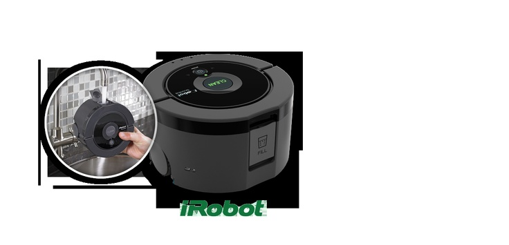 - Robot laveur de sols - Idéal pour les sols en dur, cuisine, salle de bain ou toilettes - (14 m2 par cycle de nettoyage) - Fonctionne sur le carrelage, linoleum et planchers vitrifiés - Neutralise jusqu'à 97% des bactéries domestiques courantes