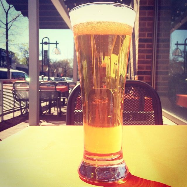 The Edina Grill Craft Beer Garden will be featuring The Freehouse beers at the Edina Art Fair June 5-7! The beer pictured is the No. 1 KÖLSCH-STYLE ALE, and it will be available in the craft beer garden in the Edina 5-0 Lot! It's a golden-colored ale, sweet yet crisp, light apple/pear fruitiness, mild hop flavor/aroma and medium bitterness, light body. Malt - Pilsner, Acidulated Hops - bittering: Nugget; flavor: Vanguard; aroma: Sterling #50thandfrance #edinaartfair #edinagrill